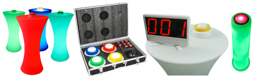 QuizXpress quiz buzzers keypads and scoreboards